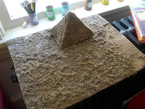 How To Make A Paper Mache Pyramid - muck and nettles papier mache pyramid