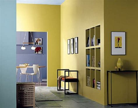 interior wall paint colors in yellow interior painting