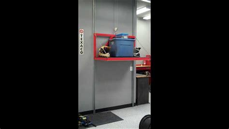 Elevator Garage by Garage Attic Storage Lift Elevator