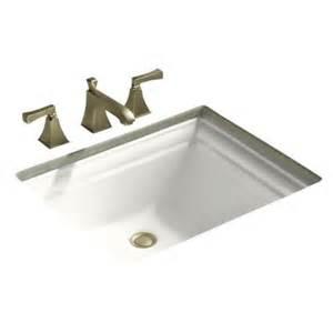 kohler undermount sinks bathroom kohler k 2339 memoirs vitreous china 18 1 4 undermount