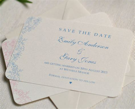 wedding save the date cards vintage lace wedding save the date cards by beautiful