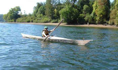 canoe boat wake building a skin on frame kayak