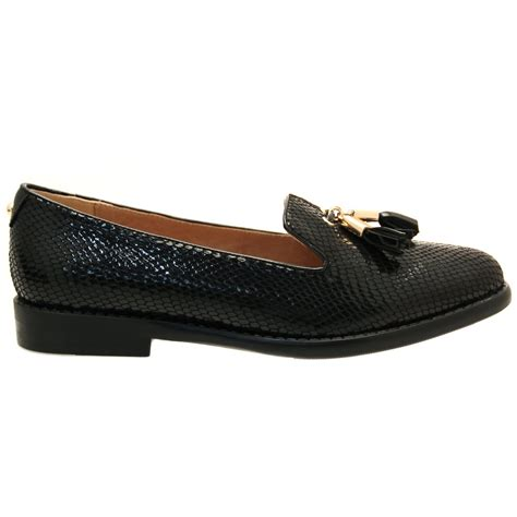 moda shoes buy moda in pelle womens black eida tassel shoes at hurleys
