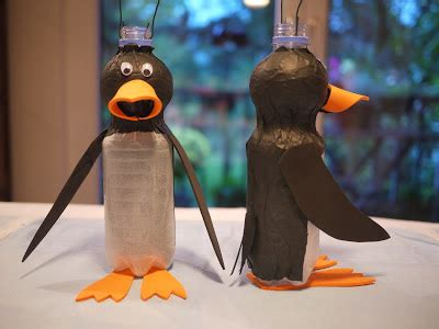 penguin rubber st guanxin noparking upcycled penguin lanterns for the