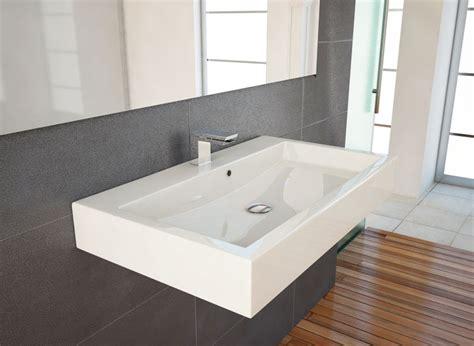 waschbecken armatur wandmontage design waschbecken waschtisch 70cm zur wandmontage