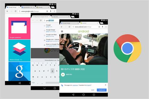 layout chrome app chrome browser for android with material design okayandroid