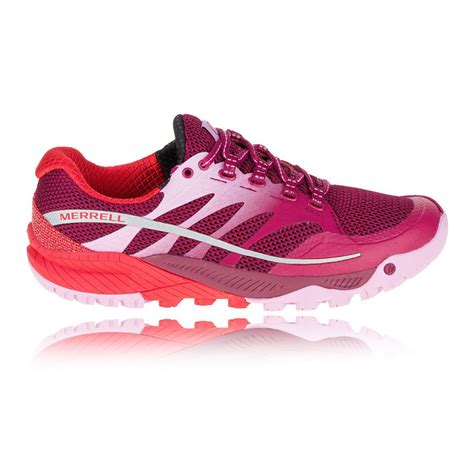 pink sneakers merrell all out charge womens pink sneakers running sports