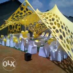 archive stretch tent for hire and full decoration for all