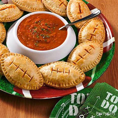 awesome football shaped party food b lovely events
