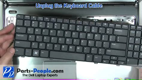keyboard repair tutorial dell inspiron 15r m501r n5010 m5010 keyboard replacement