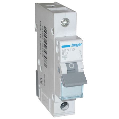 Mcb Broco 10 Ere C10 hager 10 mcb hager distribution switch and