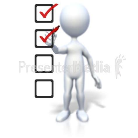 figure checklist 3d figure clipart 36