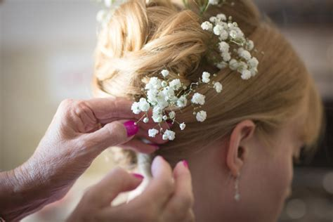 Wedding Hair And Makeup Yeovil by Fern And Dominic S Woodland Bird And Country Flower