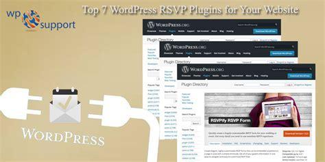 Top 7 WordPress RSVP Plugins for Your Website