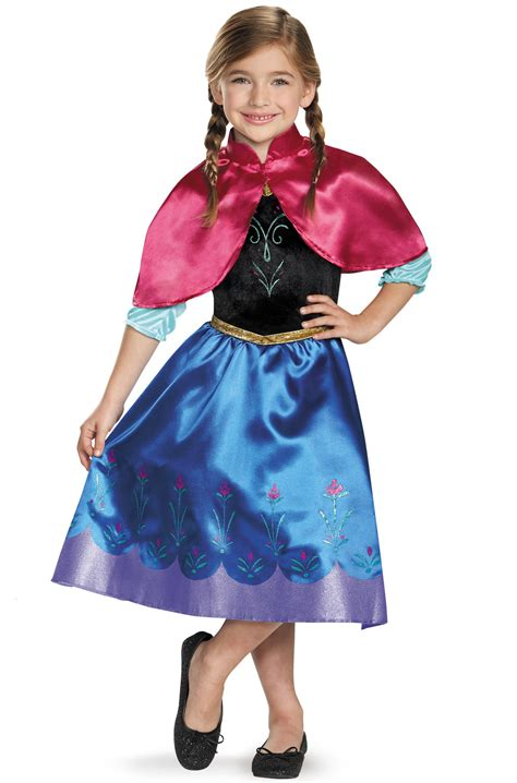 anna traveling classic child costume purecostumescom