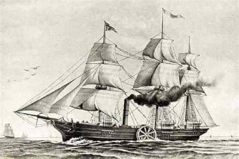 quien invento el barco a vapor la historia del barco su origen y c 243 mo ha sido su evoluci 243 n