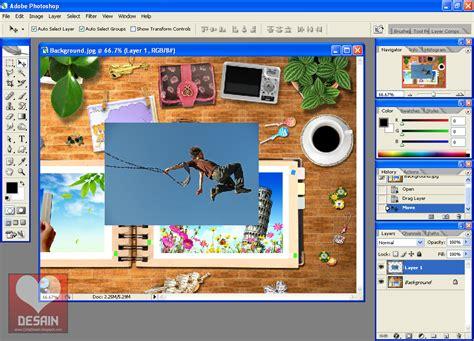 membuat gambar kolase di photoshop cinta desain review ebooks