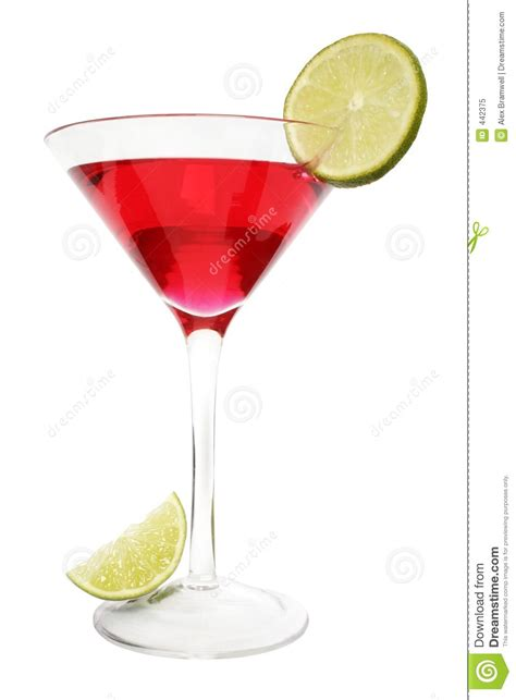 red martini drink red lime cocktail royalty free stock photo image 442375