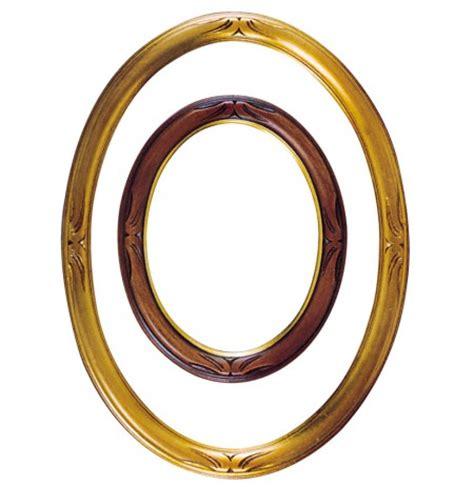 cornici ovali in legno cornici ovali my arte strumenti per creare