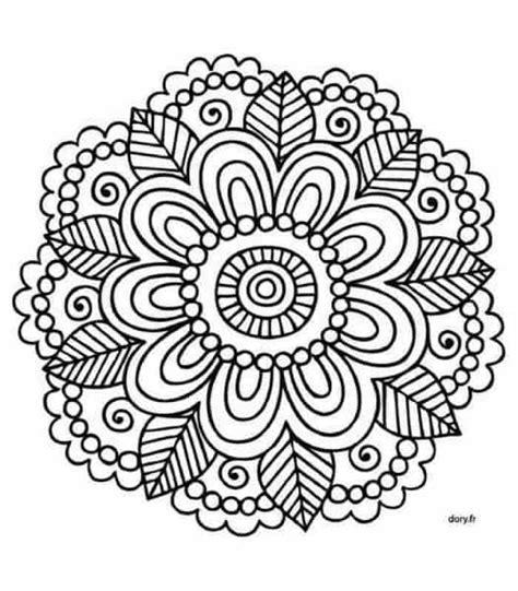 imagenes de mandalas faciles y bonitas mandalas budistas m 225 s de 100 dise 241 os para imprimir y