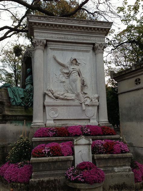 p 232 re lachaise cemetery on all saints weekend