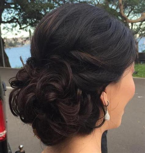 prom hairstyles side buns 40 most delightful prom updos for long hair in 2017