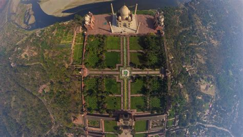 taj mahal garden layout was the taj mahal originally a hindu temple to shiva