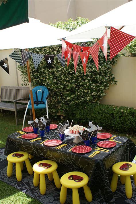 como celebrar una fiesta infantil al aire libre
