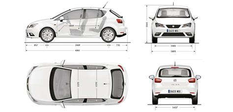 seat size seat ibiza sizes and dimensions guide carwow