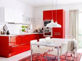 Red Kitchen Decor by Kitchen Design Ideas Red Kitchen