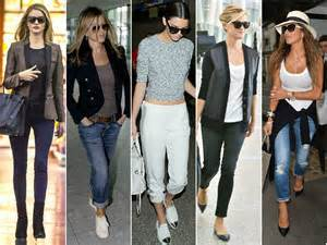 Celebrity Style Celebrity Airport Style Travel Like The Hottest Fashionistas