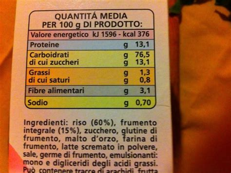 etichetta alimenti etichette alimentari informazioni sulle etichette dei