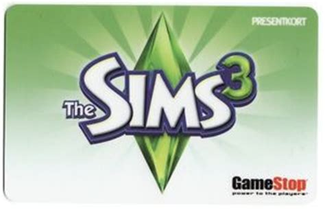 gift card the sims 3 gamestop sweden gamestop - Sims Gift Card