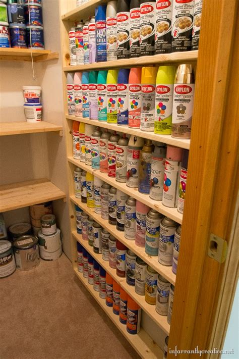 spray paint bookshelf diy spray paint shelf holds 117 cans