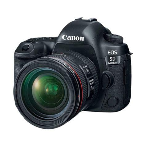 Kamera Canon Dslr Eos 5d Jual Canon Eos 5d Iv Kit 24 70mm F 4 0l Is Usm Kamera Dslr Black Harga
