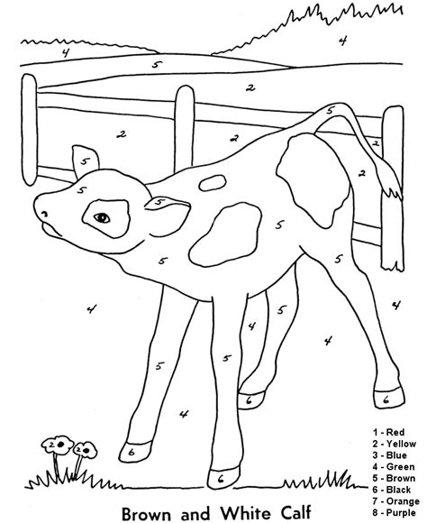 color by number coloring pages easy easy color by number printables az coloring pages
