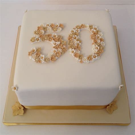How To Become A Home Decorator by 50 Golden Wedding Anniversary Cake