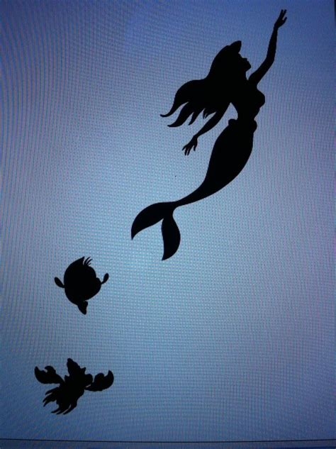 the little mermaid tattoos mermaid silhouette ink and piercings