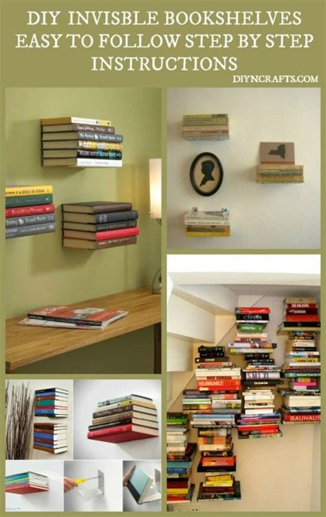 How To Install Bookshelves Beautiful And Unique Home D 233 Cor Diy Install Invisible