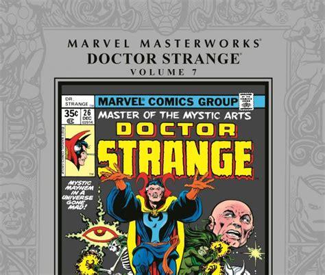The Strange Library Ushardback doctor strange masterworks vol 7 hardcover comic books comics marvel