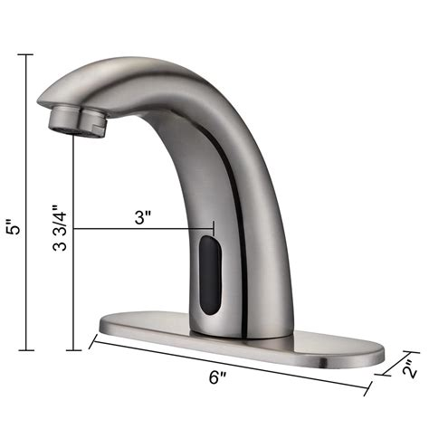 Touchless Faucets Commercial by Touchless Bathroom Sink Faucet Commercial Free Tap Ebay