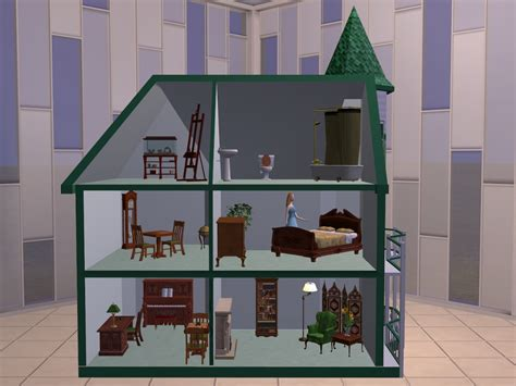 tiny doll houses mod the sims tiny treasures doll house