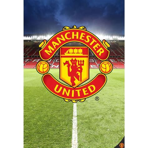 manchester united wall murals manchester united wallpaper wall mural new utd official ebay