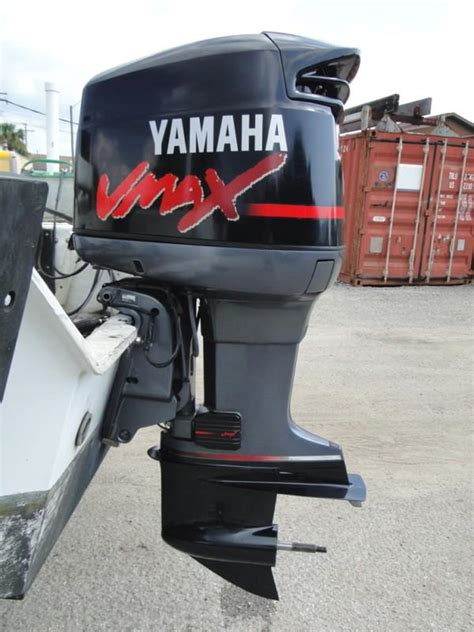 used yamaha vmax boat motor for sale buy 1999 yamaha 150 hp vmax 2 stroke 20 outboard motor