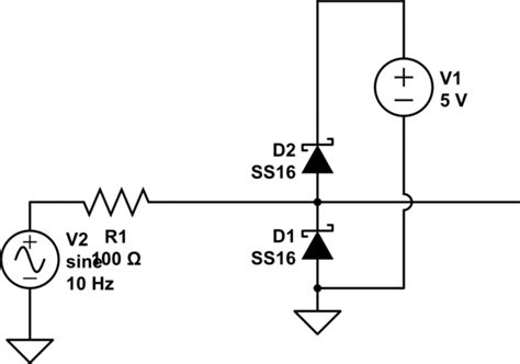 series resistors i2c protection protecting i2c with diodes electrical engineering stack exchange