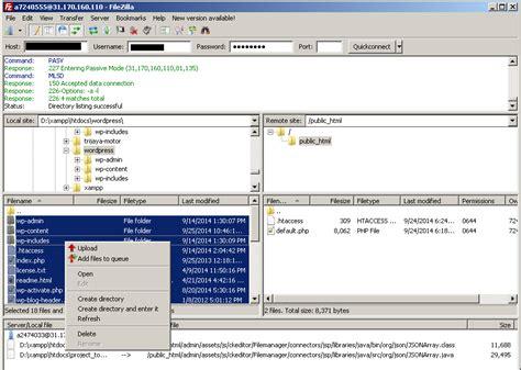 tutorial upload web ke hosting cara upload website dari localhost ke hosting jago website