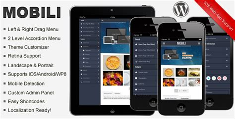 mobile themes best best wordpress mobile themes and templates 56pixels com