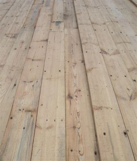 5 quot reclaimed pine square edged floorboards flooring ebay