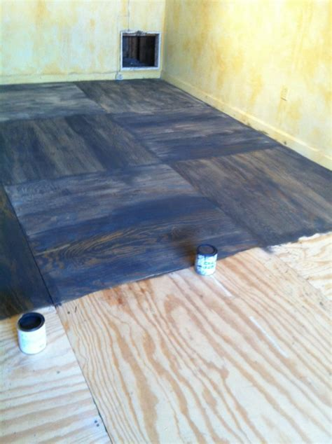 painting a floor painting plywood floors houses flooring picture ideas