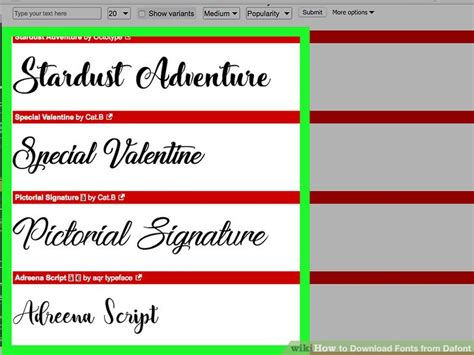 dafont for mac how to download fonts from dafont 7 steps with pictures